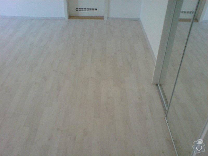 Pokládka laminátové podlahy: DSC02149