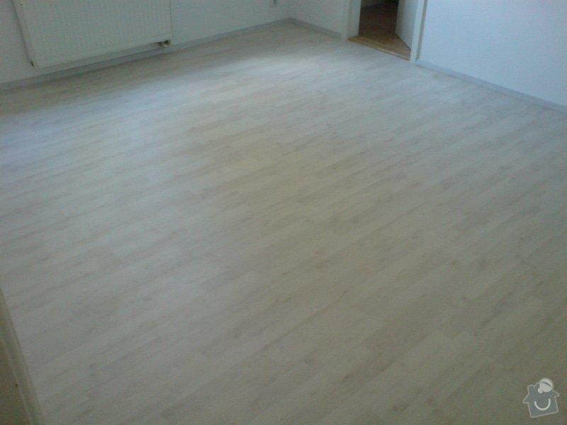 Pokládka laminátové podlahy: DSC02148