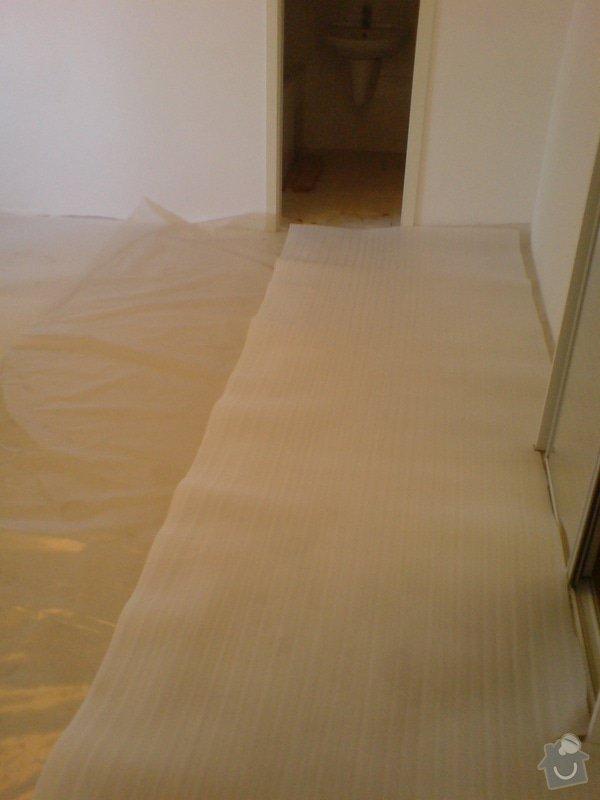 Pokládka laminátové podlahy: DSC02146
