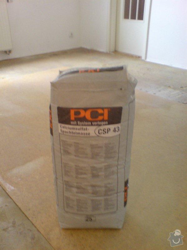 Pokládka laminátové podlahy: DSC02142