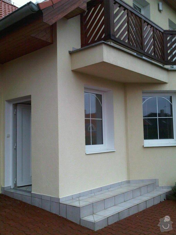 Zazdění zápraží, instalace okna a dveří.: zaprazi2