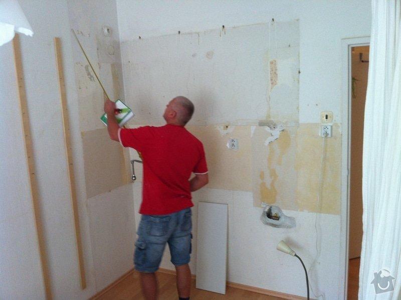 Úprava vody, elektro a zdí pro kuchyňskou linku: IMG_1133