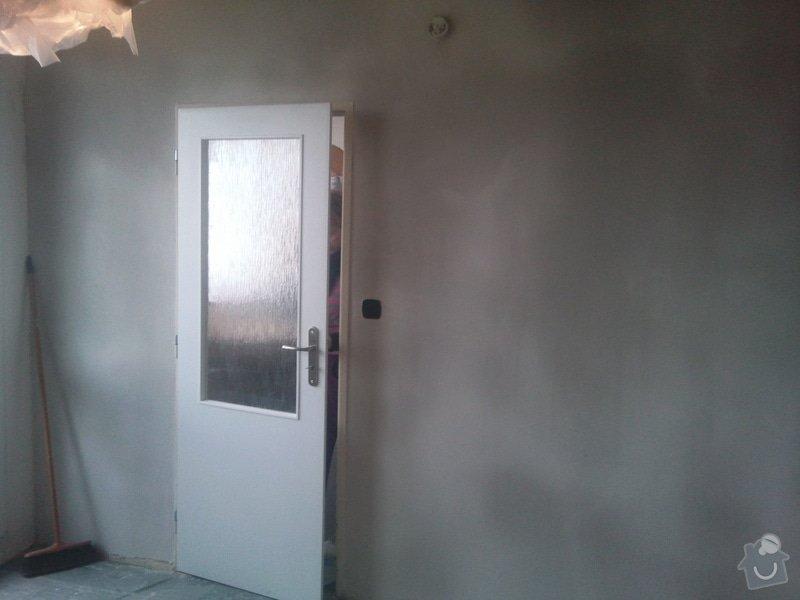 Renovace starých omítek a stropu  v 1 pokoji : Fotografie161