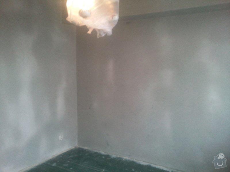 Renovace starých omítek a stropu  v 1 pokoji : Fotografie162