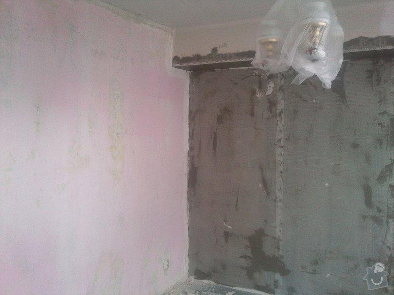 Renovace starých omítek a stropu  v 1 pokoji : Fotografie160