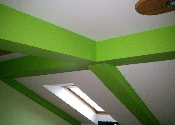 Malování bytu za Prahou