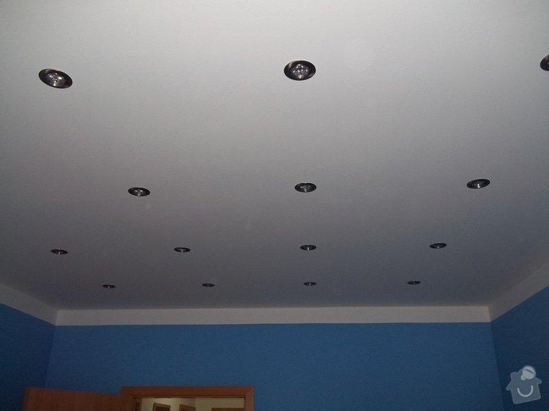 Snížené podhledy a montáž bodového osvětlení: 104_0907