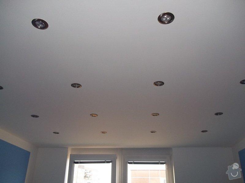 Snížené podhledy a montáž bodového osvětlení: 104_0908