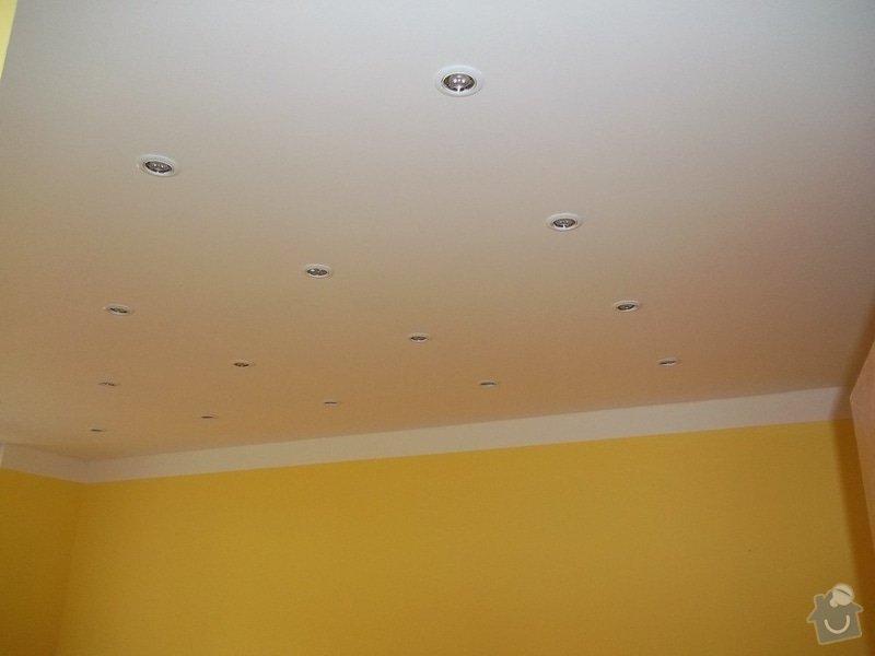 Snížené podhledy a montáž bodového osvětlení: 104_0910