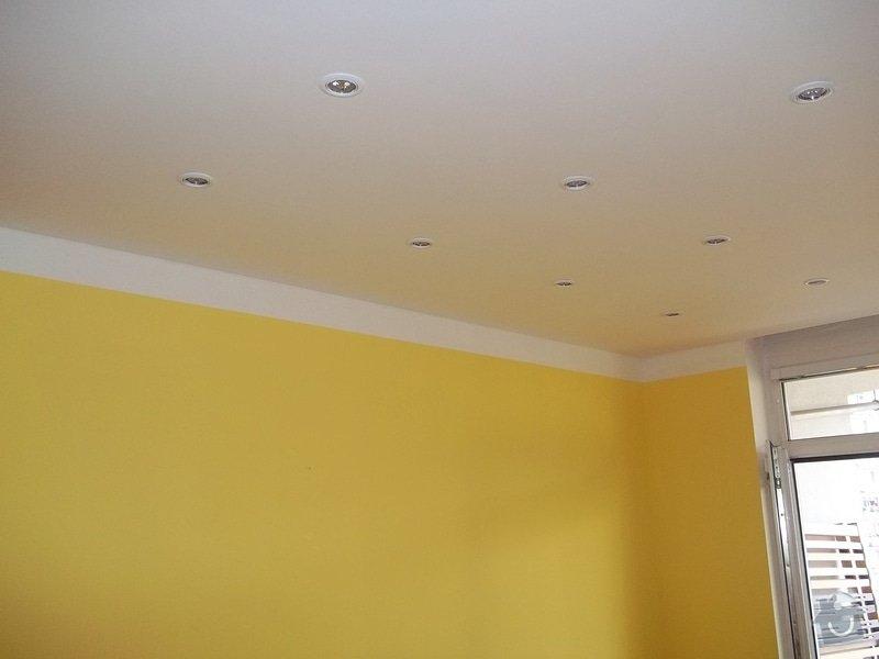 Snížené podhledy a montáž bodového osvětlení: 104_0912