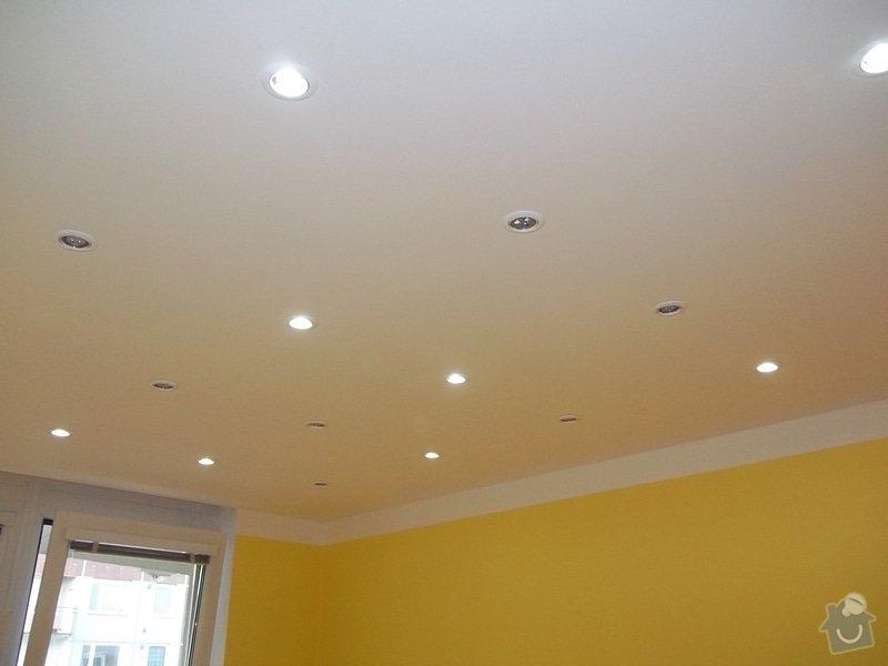 Snížené podhledy a montáž bodového osvětlení: 104_0913