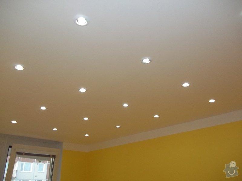 Snížené podhledy a montáž bodového osvětlení: 104_0914