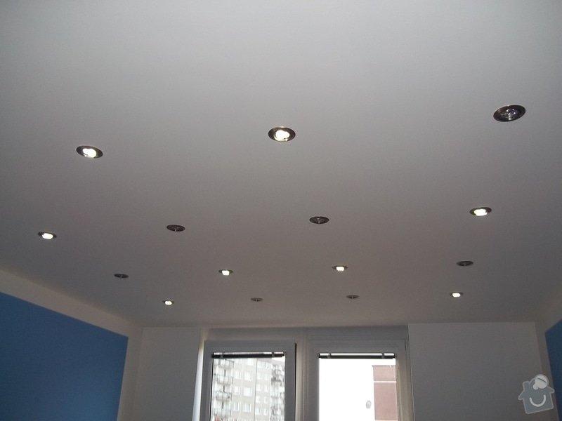 Snížené podhledy a montáž bodového osvětlení: 104_0915