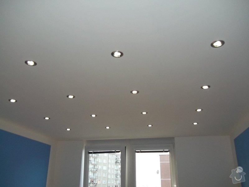 Snížené podhledy a montáž bodového osvětlení: 104_0916