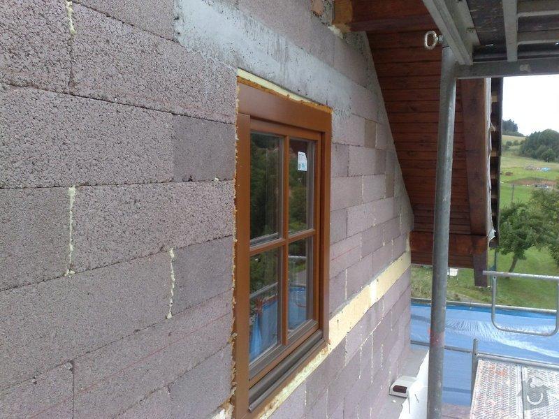 Dřevěný obklad rodinného domu: 070920111110