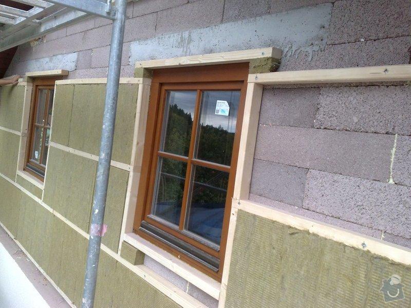 Dřevěný obklad rodinného domu: 070920111114