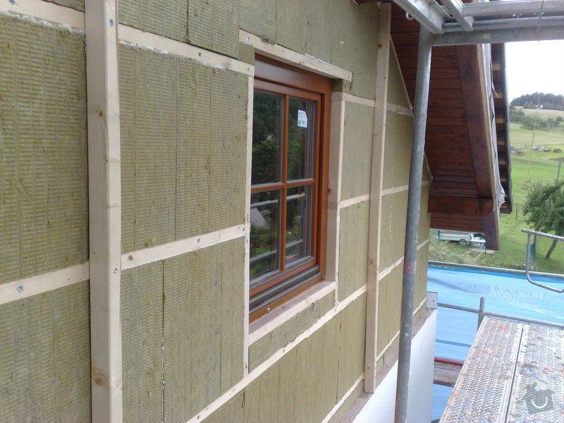 Dřevěný obklad rodinného domu: 070920111118