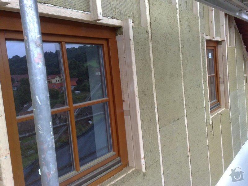 Dřevěný obklad rodinného domu: 080920111124