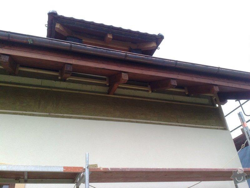 Dřevěný obklad rodinného domu: 090920111125