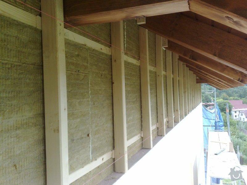 Dřevěný obklad rodinného domu: 090920111130