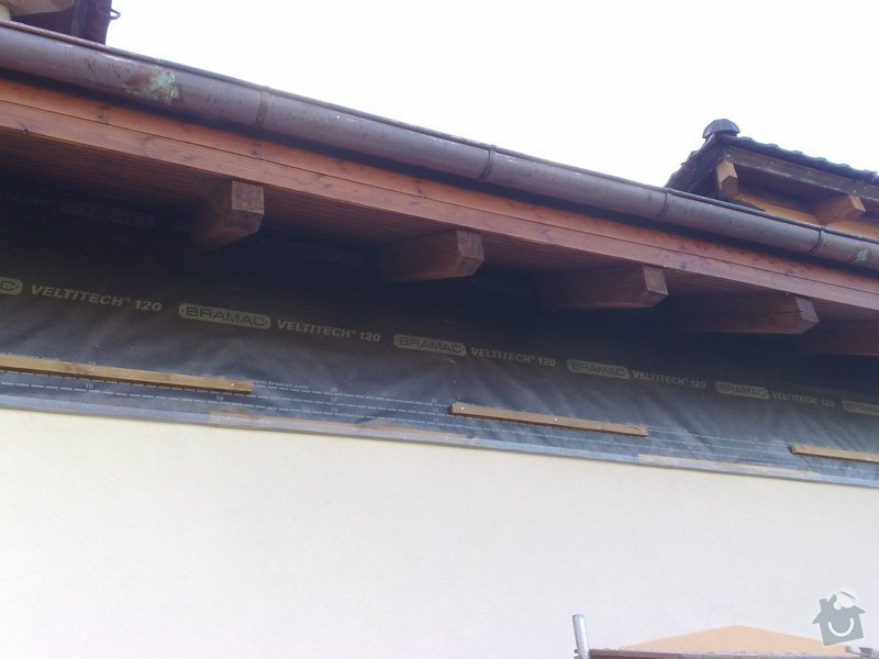Dřevěný obklad rodinného domu: 100920111132