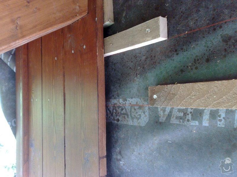 Dřevěný obklad rodinného domu: 110920111136