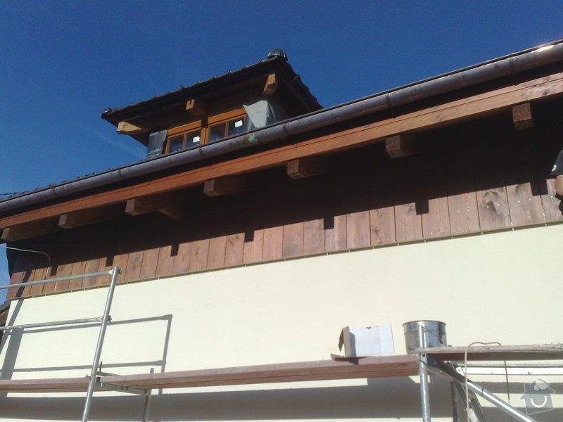 Dřevěný obklad rodinného domu: 120920111141