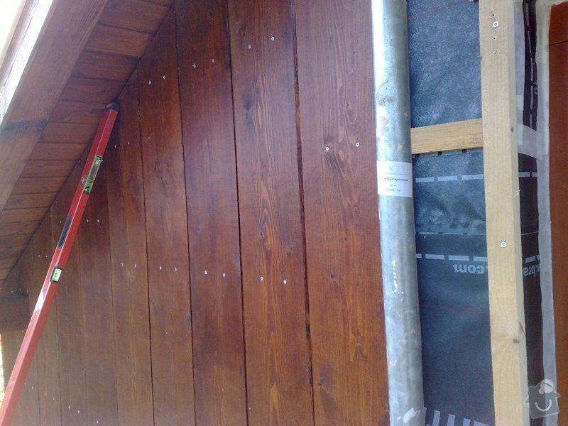 Dřevěný obklad rodinného domu: 130920111150