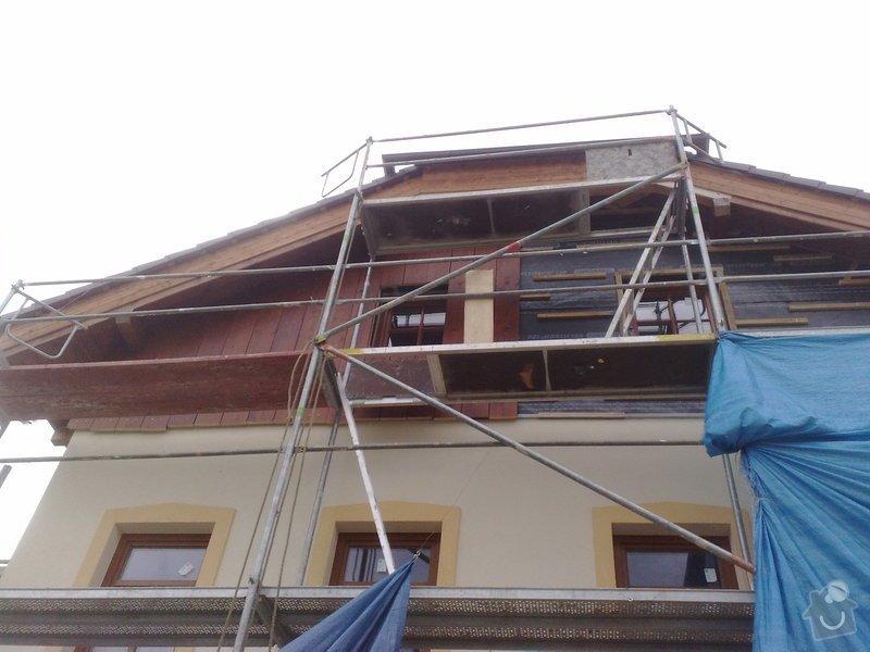 Dřevěný obklad rodinného domu: 130920111152