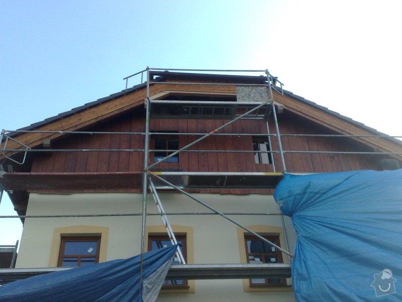 Dřevěný obklad rodinného domu: 130920111154