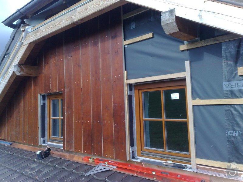 Dřevěný obklad rodinného domu: 131020111219