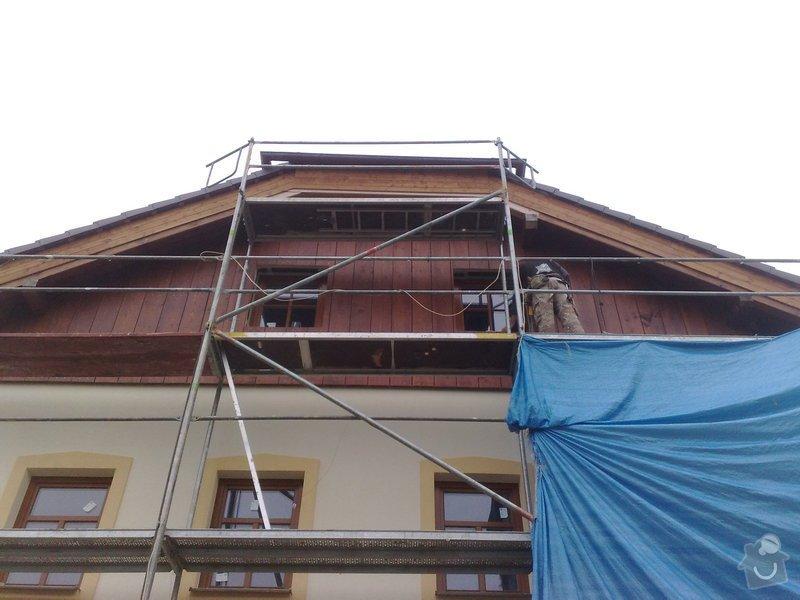 Dřevěný obklad rodinného domu: 190920111155