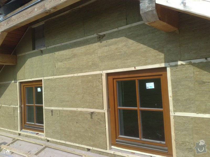 Dřevěný obklad rodinného domu: 210920111160