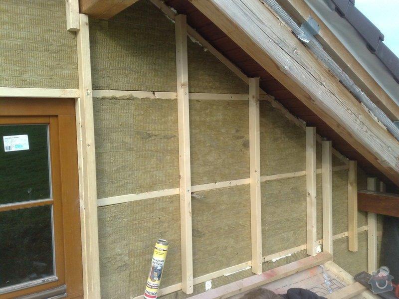 Dřevěný obklad rodinného domu: 210920111165
