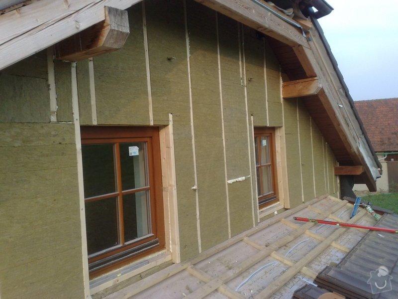 Dřevěný obklad rodinného domu: 210920111166