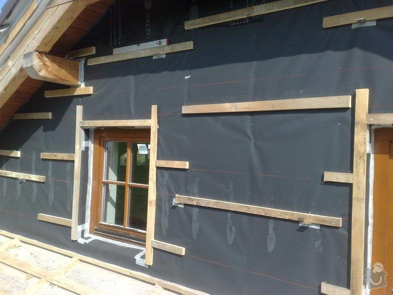 Dřevěný obklad rodinného domu: 220920111167