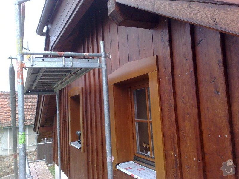 Dřevěný obklad rodinného domu: 271020111260