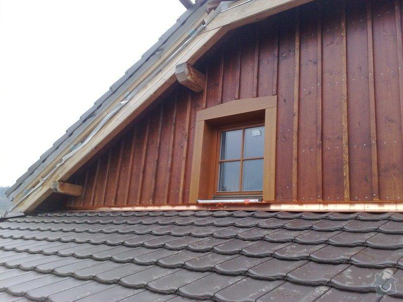 Dřevěný obklad rodinného domu: 271020111262