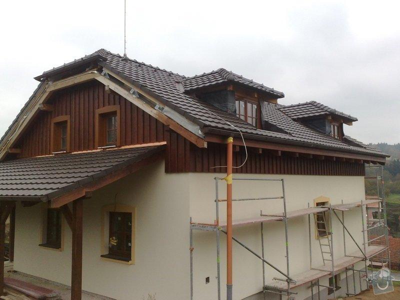 Dřevěný obklad rodinného domu: 271020111263