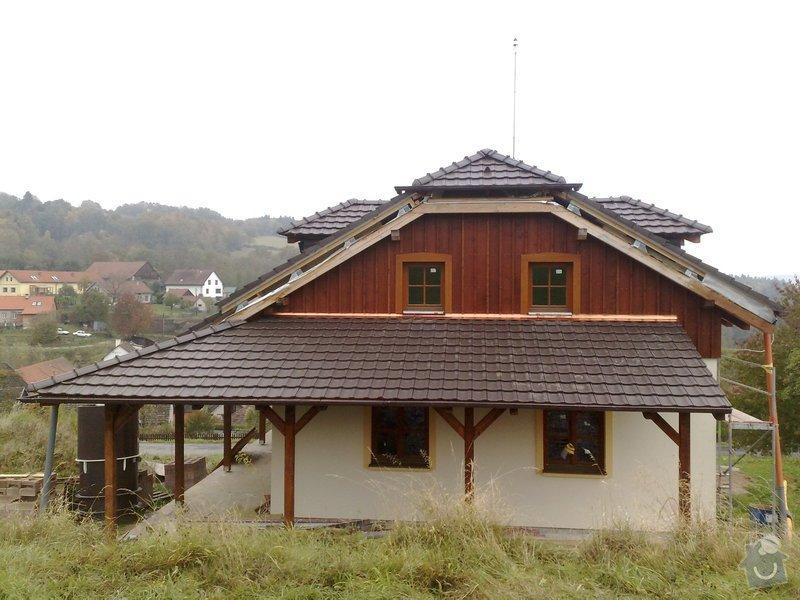 Dřevěný obklad rodinného domu: 271020111264