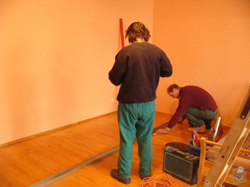 Sádrokartonové příčky a posuvné dveře: FIL1330