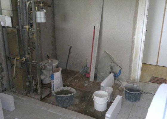 Rekonstrukce bytového jadra byt 1+1 Brno