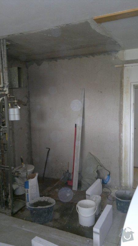 Rekonstrukce bytového jadra byt 1+1 Brno: 11042011785