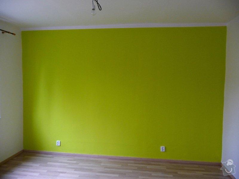 Barevná malba ložnice + jídelní kout: P1050501_u1