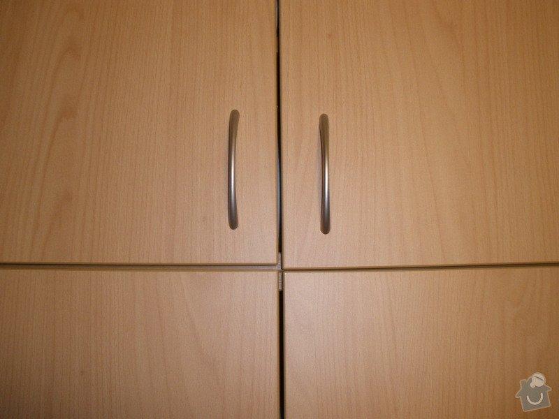 Kuchyňská linka,vestavné skříně,botník,dveře: P4160796