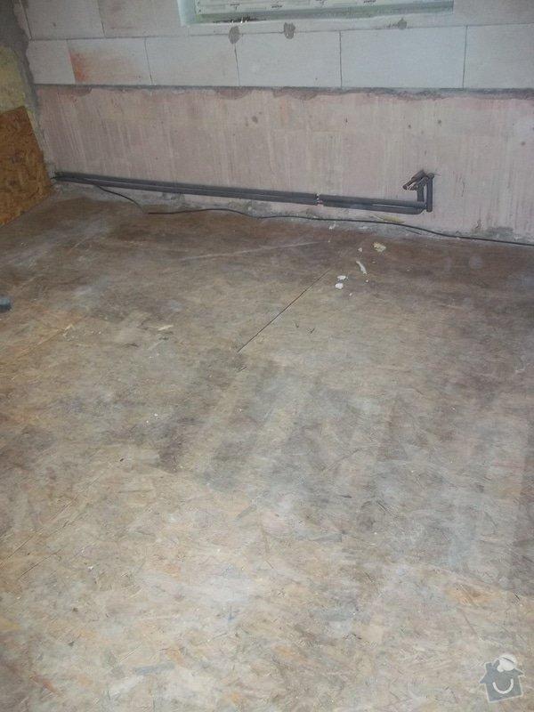 Zvednutí podlahy a zateplení stěny: 104_0925