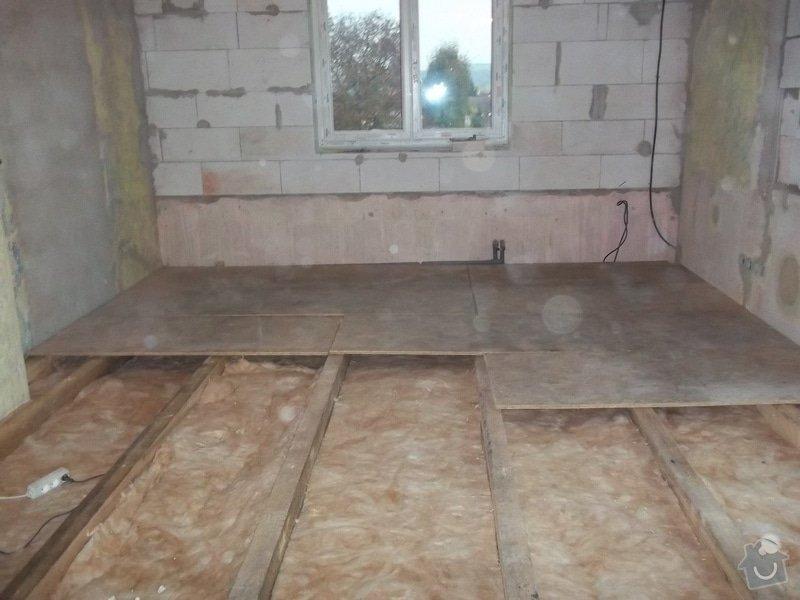 Zvednutí podlahy a zateplení stěny: 104_0933