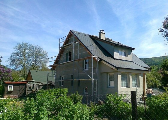 Rekonstrukce střechy,nastavba krovu