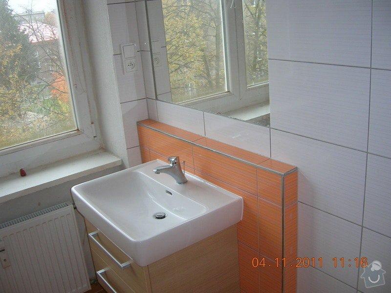 Rekonstrukce koupelny a WC: DSCN4164