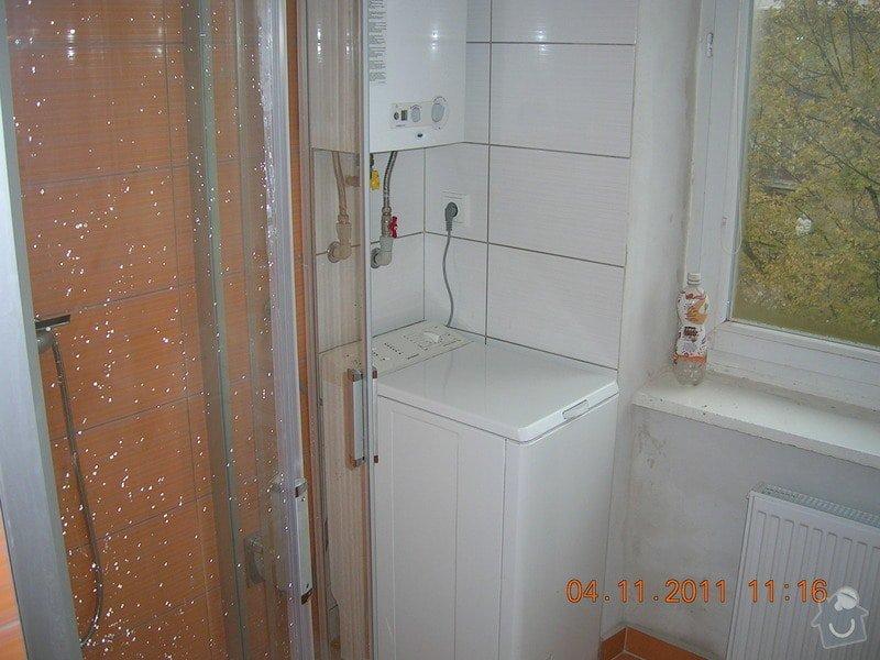 Rekonstrukce koupelny a WC: DSCN4165